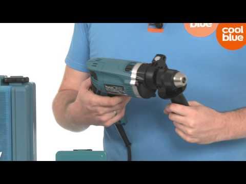 Видео обзор: Дрель ударная MAKITA HP 1631 KX 2 + набор сверел + чемодан