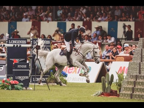 LGCT Grand Prix of Mexico City Silver Medallist Jos Verlooy