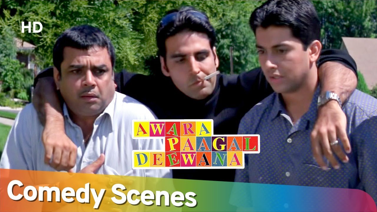 ये तोह अंडरवियर दोस्त निकले | Best Comedy Scenes - Awara Paagal Deewana - Akshay Kumar -Paresh Rawal