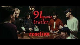 Ninety One Movie Trailer Reaction // Реакция на трейлер фильма Ninety One