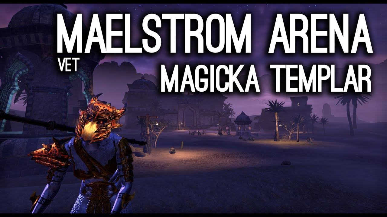 Magicka Templar Build PvE DPS for Elder Scrolls Online