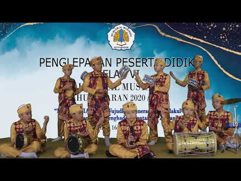 Penampilan Tim Marawis SD Islam Al Mustarih