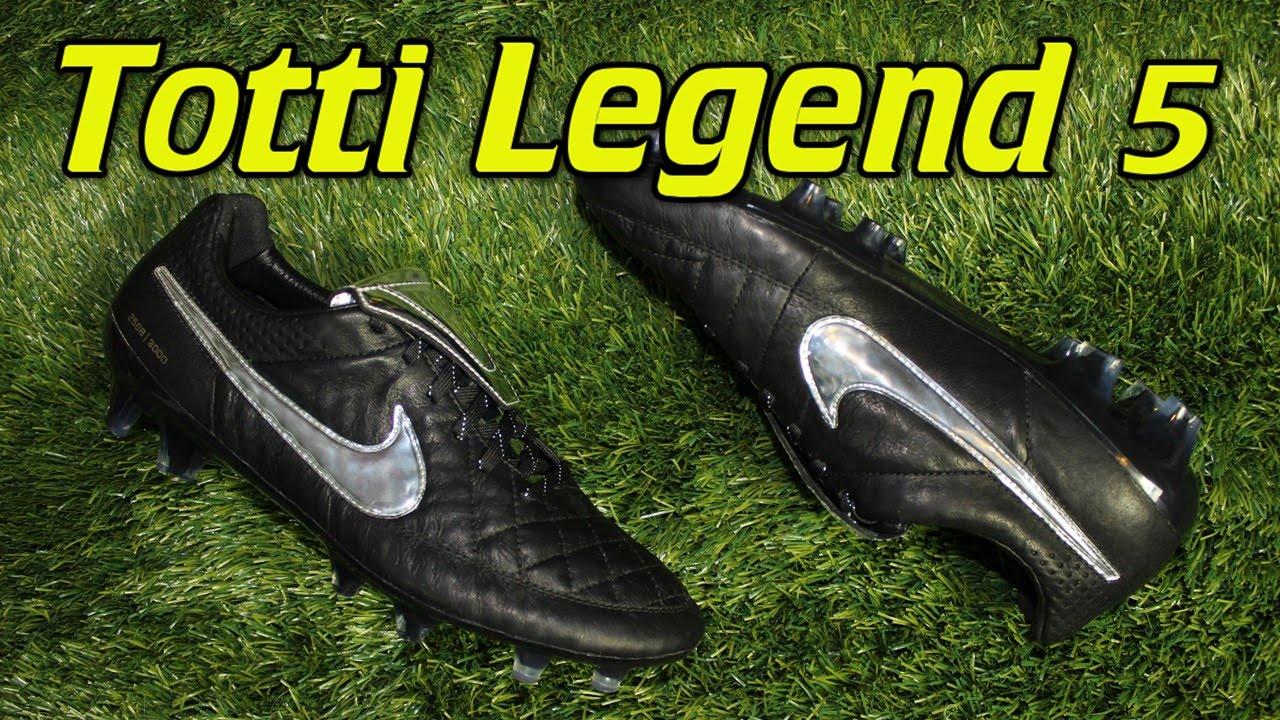 comer Mata Rebotar  Totti Nike Tiempo Legend 5 Premium - Review + On Feet - YouTube