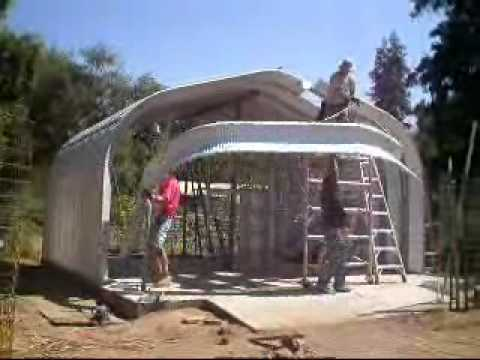 How To Construct A Steel Building Youtube