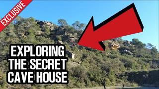 The Off Grid Secret Cave House Tour