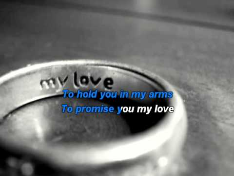 Westlife - My Love  karaoke with lyrics