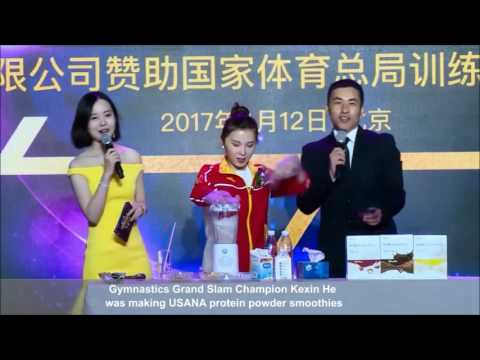 TEAM USANA Partnership with 1300 China Elite Athletes