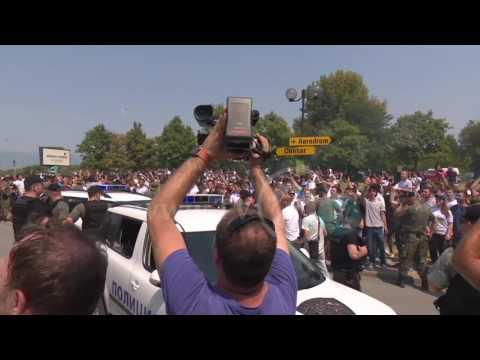 Реал Mадрид и Mанчестер Jунајтед во Скопје, навивачите разочарани, немаа можност за поблиска средба
