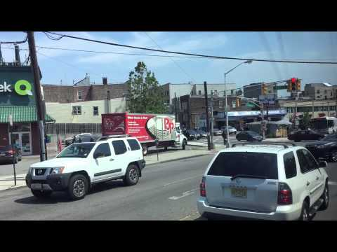 New Jersey Transit HD 60 FPS: Riding MCI D4000 7799 On Route 154 (North Bergen - New York)