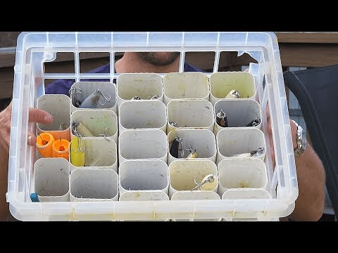 How to Make a Crate Tackle Box w PVC