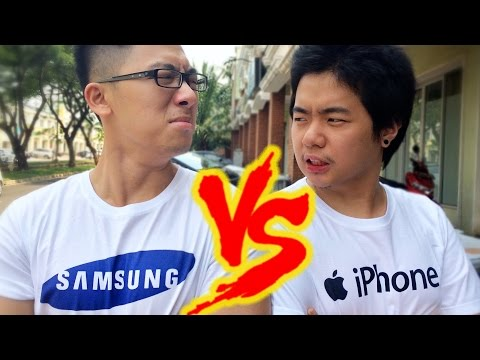 iPhone vs. Samsung