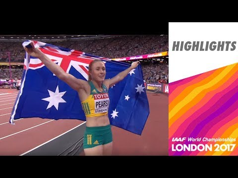 WCH London 2017 Highlights - 100m Hurdles - Women - Final - Sally Pearson wins!
