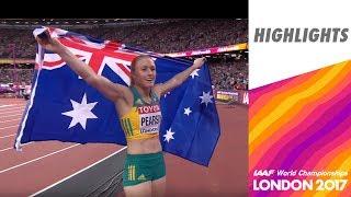 WCH London 2017 Highlights - 100m Hurdles - Women - Final - Sally Pearson wins!
