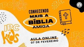 IPC Kids   Aula online 07 de fevereiro de 2021   Quem é Jesus? - Jesus é a luz do mundo