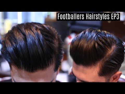 Best Hairstyle For Thick Hair - Popular Mens Hairstyle 2017 - Modern Slick Back Haircut Tutorial
