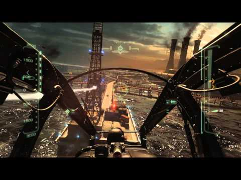 Call of Duty: Ghosts - Birds of Prey: Apache Clear AA Targets, Main Island, Control The Air & Land