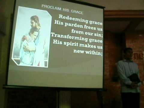 Proclaim His Grace with Tagalog Version