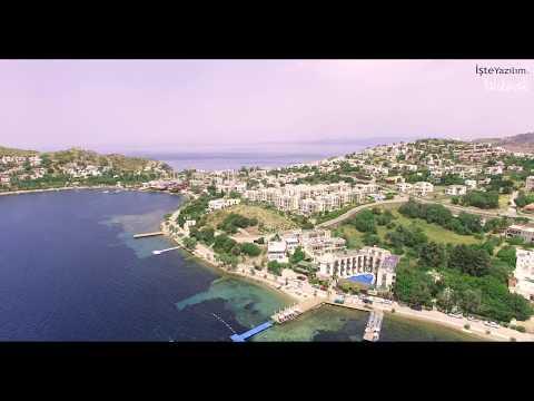 Yalıkavak/Bodrum 4K drone çekimi