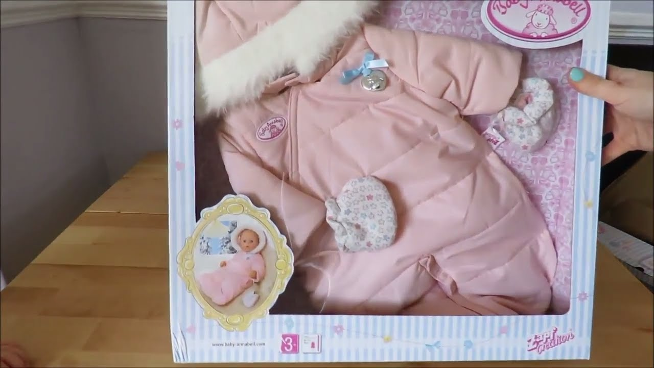 Baby Annabell Schlafzimmer Baby Annabell Duluxe Winter Set Baby Annabell Coat Baby Born Winter