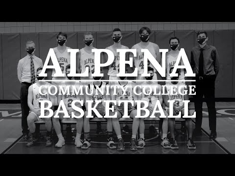 2021 Men's Basketball: Alpena CC vs. Muskegon Community College