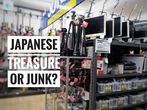 Second hand used treasure or junk? in Japan - Back to the past