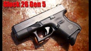 Glock 26 Gen 5 (The Fat Baby) First Shots
