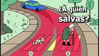 ¿A quién debe salvar tu coche? El sorprendente resultado del experimento del MIT
