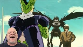 reaction videos   tfs cell games cell vs light yagami can i buy it on amazon
