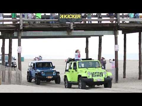 Jeep Week Ocean City MD 8-25-17 Video 2
