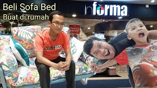 Beli Sofa Bed Di Informa Mal Metropolitan Bekasi