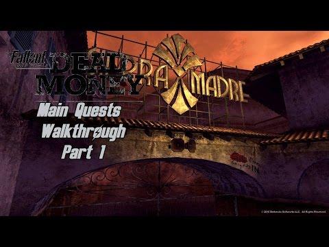 Fallout: New Vegas - Dead Money DLC - Walkthrough Part 1