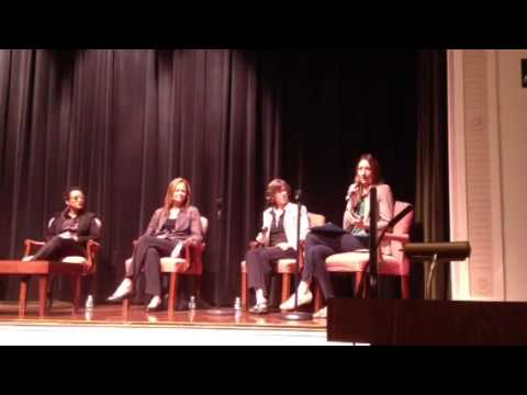 Earth Day Panel at the Chapin School