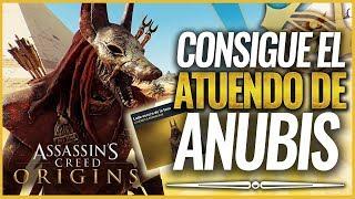 Assassin's Creed Origins   Cómo conseguir el ATUENDO DE ANUBIS (Traje Lado Oscuro de la Luna)