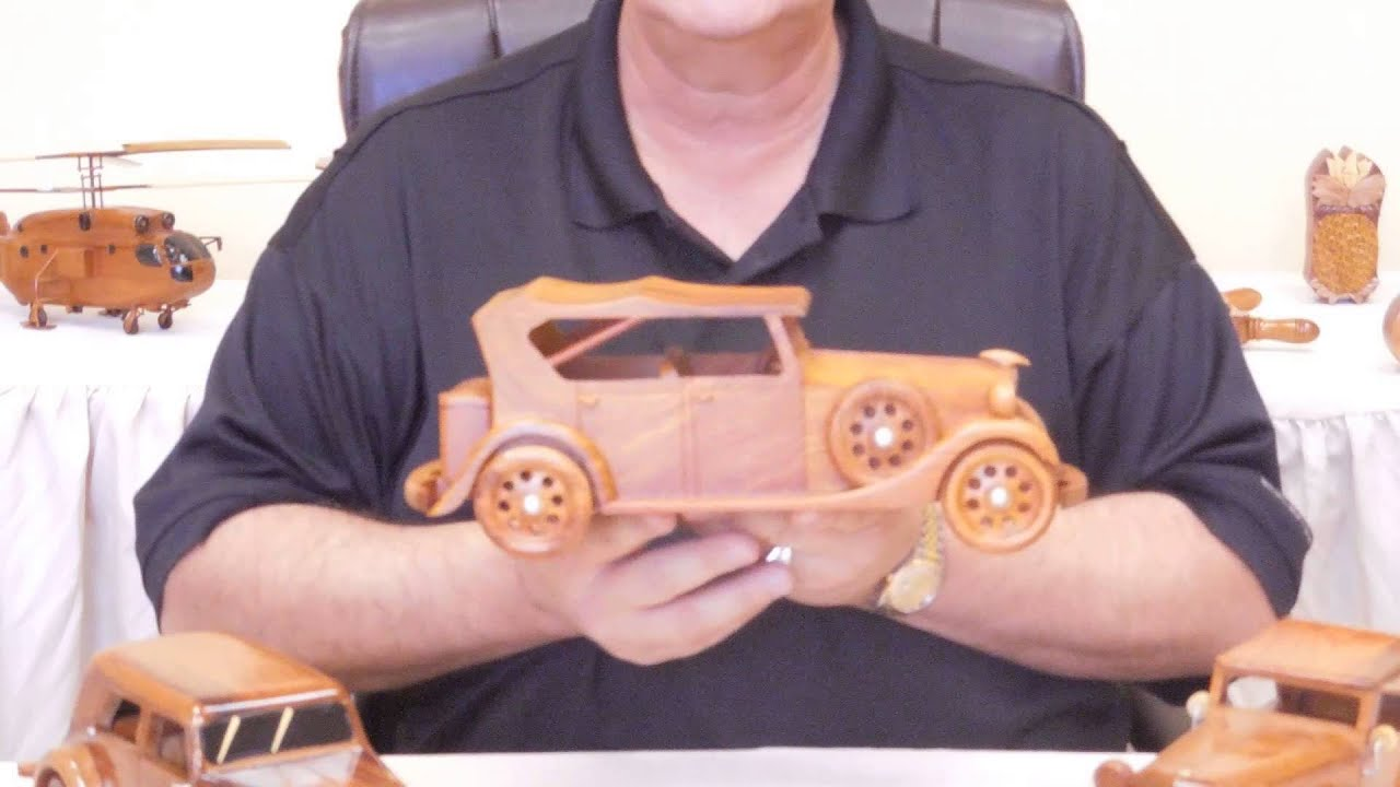 Handcrafted Mahogany Natural Wood Classic Cars by Premium Wood ...
