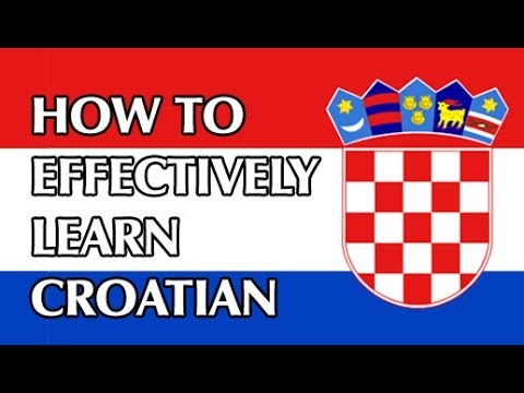 How to effectively learn Croatian? Tips for verbs and nouns #1