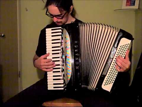 Imagine Dragons - Radioactive [accordion cover]