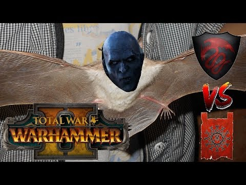 Skaven vs Vampire Counts - THICKET KLAW - Total War Warhammer 2 - 동영상
