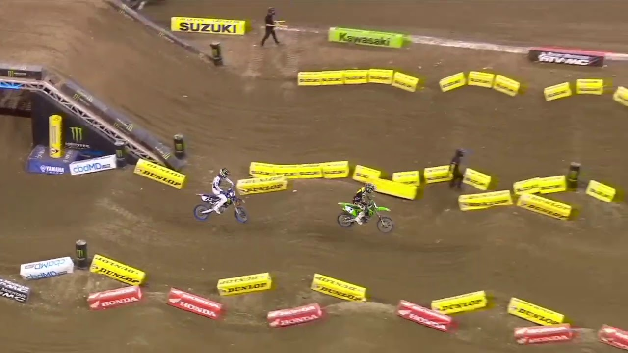 Supercross Round #5 450SX Highlights from Indianapolis