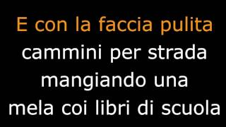 Albachiara - Vasco Rossi  TESTO LYRICS