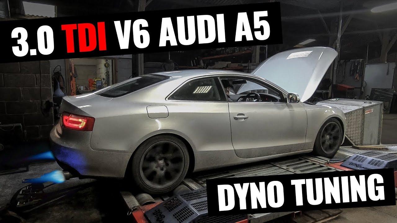 228BHP to 340BHP! 4WD DYNO TUNING - AUDI A5 3 0 TDI QUATTRO PROJECT -  DARKSIDE DEVELOPMENTS - PART 8
