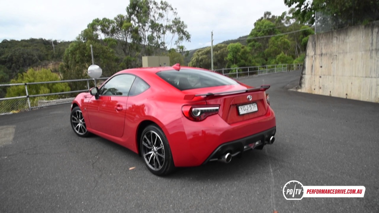 2017 Toyota 86 Gts Manual 0 100km H Engine Sound