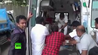 Sri Lanka blasts: Injured victims arrive to Colombo hospitals