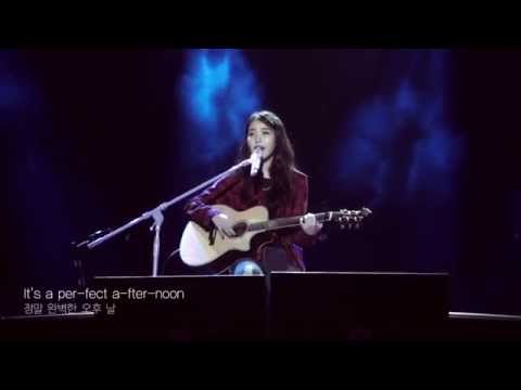 THE MOON SONG(HER OST) - IU with lyrics