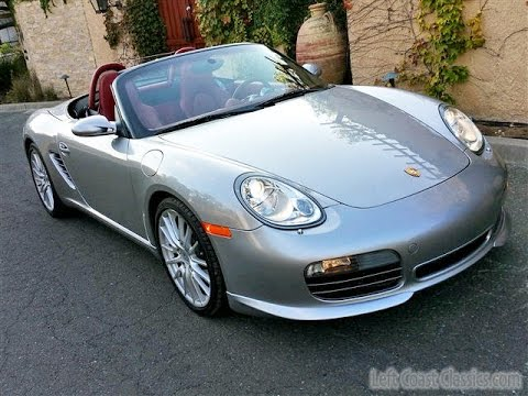 Limited Edition 2008 Porsche Boxster Rs60 Spider For Sale Youtube
