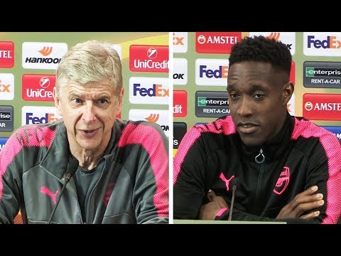Arsene Wenger & Danny Welbeck Pre Match Press Conference | Arsenal v Atletico Madrid | Europa League