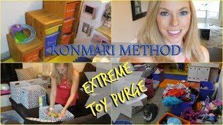 ✨Konmari Method: Komono Toys Purge/ Declutter✨