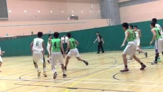 2015 學界籃球港島區D2 A grade 高主教(白)3
