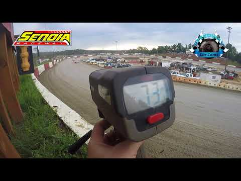 Speed Radar Footage from turn 3 on 8-12-17 Senoia Raceway