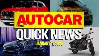 New Creta, Brezza Petrol, Innova BS6 and more | Quick News | Autocar India