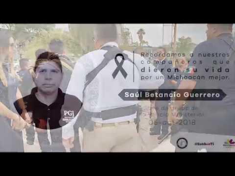 VIDEO Se compromete José Martín Godoy a llevar ante la justicia a los responsables del homicidio de su agente ministerial